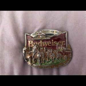 Budweiser Belt Buckle!!!